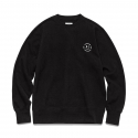 비바스튜디오(VIVASTUDIO) SMILE CREW NECK [BLACK]