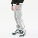 써드위브(THIRDWEAVE) OBLIQUE LOGO SWEAT PANTS GRAY