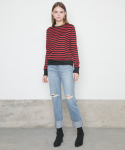 [스완진] AURELIE MEDIUM WASHED JEANS