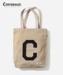 커버낫(COVERNAT) C LOGO ECO BAG BEIGE