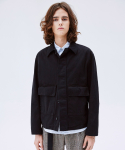 슬립워커(SLWK) OVERDYED BLOUSON JACKET BLACK
