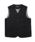 유니폼브릿지() 17fw hbt pocket vest black
