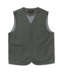 유니폼브릿지(UNIFORM BRIDGE) 17fw hbt pocket vest grey
