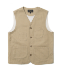 유니폼브릿지(UNIFORM BRIDGE) 17fw hbt pocket vest beige