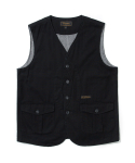 유니폼브릿지(UNIFORM BRIDGE) 17fw hunting vest black