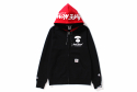 베이프() AAPE INTERLOCK ZIP UP HOODIE