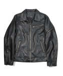 Leather Blouson Jumper