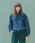 션메익스클로스(SEANMAKESCLOTH) FALL IN EMBROIDERY MTM BLUE