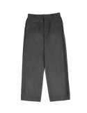 드퐁(DEFOND) OUT SEWING WOOL BLENDING TROUSER_GRAY