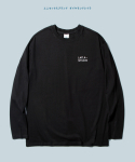 다이아몬드 레이라(DIAMOND LAYLA) Layla unconditional love Basic L/S  Tee  T10 - Black