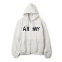 와이엠씨엘케이와이(YMCL KY) YMCL KY US Type ARMY Zip-UP Sweater