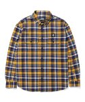 엘엠씨() LMC WL PLAID WORK SHIRT yellow