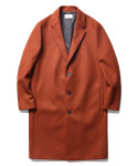 인사일런스() Solist Oversize Cashmere Coat Brick Red