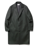 인사일런스() Solist Oversize Cashmere Coat Dark Green