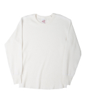 니들워크(NEEDLE WORK) MILLSPEC THERMAL ROUND SHIRTS(OFF WHITE)