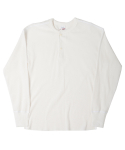 MILLSPEC THERMAL HENLEY SHIRTS(OFF WHITE)