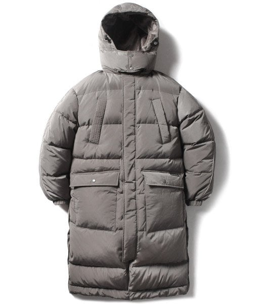 MFG LONG DOWN JACKET(KHAKI GRAY)_CMOEIDJ01UK0