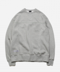 프리즘웍스(FRIZMWORKS) TRIPLE STITCH SWEATSHIRT _ GRAY