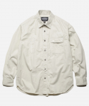 프리즘웍스(FRIZMWORKS) LIGHT SNAP WORK SHIRT _ IVORY