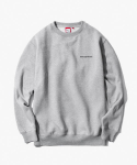 해브 어 굿 타임(HAVE A GOOD TIME) Side Logo Crewneck - Heather Grey