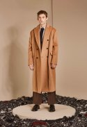 OUT SEWING TAILORED COAT_CAMEL