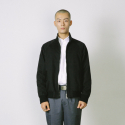 CLASSIC HARRINGTON JACKET [BLACK]