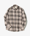 제로() Sealion - Flannel Check Shirts [Ivory]