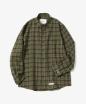 제로() HBT Check Shirts [Khaki]