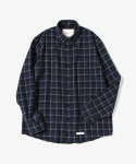 제로() HBT Check Shirts [Navy]