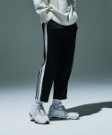Double Tape Track Pants [Black/White]