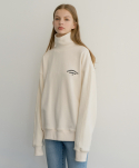 MG7F OCCASIONALLY HIGH NECK TEE (IVORY)