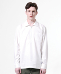 TN Pocket Zip Up Shirts - WHITE
