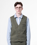 Set Up C Work Vest - KHAKI