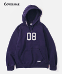 (HEAVY WEIGHT)08 LOGO HOODIE PURPLE