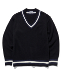 라이풀() CRICKET V-NECK KNIT black