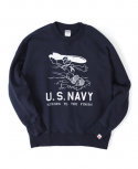 US NAVY MISSILE SWEAT SHIRT[NAVY]