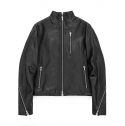 엑스페리먼트() Back Splitter Leather Jacket