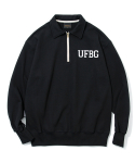 유니폼브릿지(UNIFORM BRIDGE) UFBG zip sweat shirts black