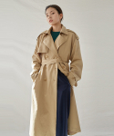 OVER TRENCH COAT_BEIGE