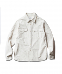 에스피오나지(ESPIONAGE) Vass 19th Work Shirt Off White