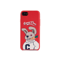 비욘드클로젯(BEYOND CLOSET) [COLLECTION LINE]MY B RABBIT IPHONE7 CASE RED