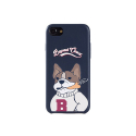 비욘드클로젯(BEYOND CLOSET) [COLLECTION LINE]MY B DOG IPHONE7 CASE NAVY