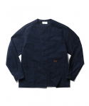 에스피오나지(ESPIONAGE) Wade Cardigan Shirt Navy
