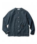 에스피오나지(ESPIONAGE) Wade Covert Cardigan Shirt Indigo