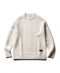 에스피오나지(ESPIONAGE) Fisherman Guernsey Sweater Ivory