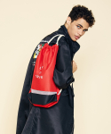 러브이즈트루(LUV IS TRUE) (UNISEX)SD GYM BAG(RED)