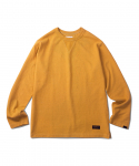 에스피오나지(ESPIONAGE) Sego Overdyed Long Sleeve Mustard
