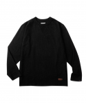 에스피오나지(ESPIONAGE) Sego Overdyed Long Sleeve Black