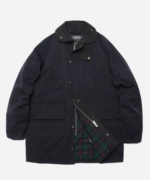 TRAVELER HUNTING JACKET _ NAVY