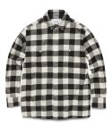비바스튜디오(VIVASTUDIO) BUFFALO CHECK SHIRTS GA [BLACK]